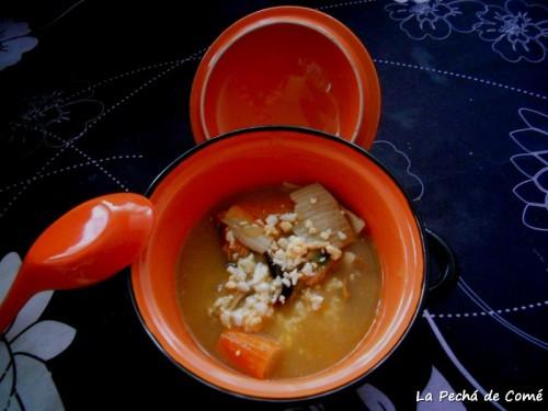 Sopa marinera asturiana