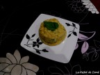 Risotto con espárragos verdes, hierbabuena y limón