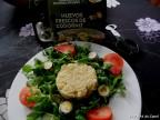 Ensalada de Quinoa con huevos codorniz