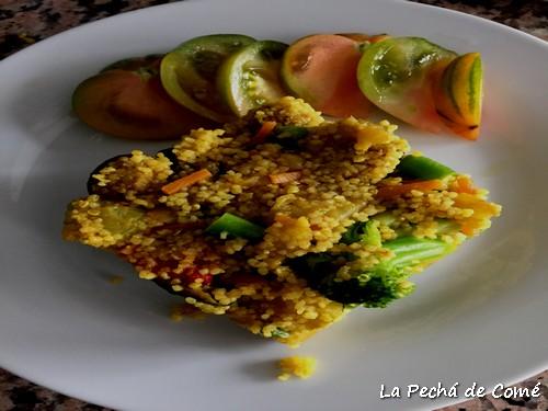 Cous cous con quinoa y verduras