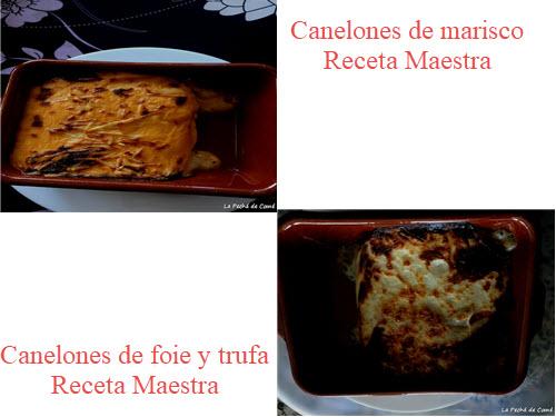 Canelones Receta Maestra de Maheso